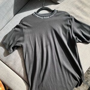 Acne Studio's Logo high-neck jacquard T-Shirt